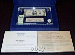 S. S. Andrea Doria Shipwreck Treasure Certificat 1935E PCGS Grade A VERY RARE FUL
