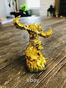 Skylanders GOLD Fire Kraken 2013 Dev Team Edition VERY RARE MAX LEVEL- VHTF