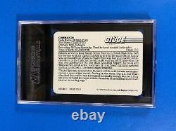 Snake-eyes Card #8 Gi Joe Hasbro 1986 Sgc Graded Gem Mint 10 Very Htf Rare Lqqk
