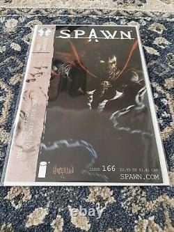 Spawn 166. Very Rare 2nd Print Variant Capullo High Grade