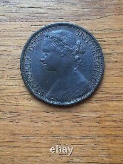 Super Rare 1875h Penny Date Not Fully Struck Very High Grade Only One Known