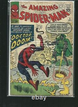 The Amazing Spider-man #5 Rare Hi End 1st Dr Doom Crossover L@@k Very High Grade