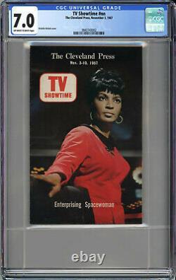 Tv Showtime Cgc 7.0 Single Highest Grade Very Rare Star Trek Uhura 1967