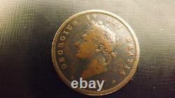 Uk Penny 1827 Better Grade Very Rare Coin Not Often Seen This Good