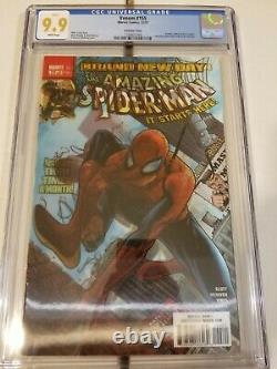 Venom #155 Cgc 9.9 Very Rare In High Grade Spiderman Lenticular Cover