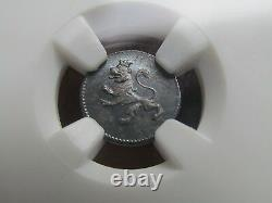 Very Rare 1819G Guatemala 1/4 Real. The Single Finest Graded NGC Certified MS65