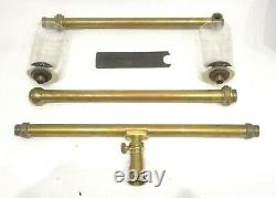 Very Rare Antique 19th Italian Water Level Surveying Equipment G. Allemano Cased