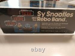 Very Rare Graded Trilogo 1983 Sy Snootles Rebo Band Vintage Star Wars Afa Ukg