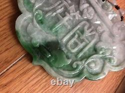 Very Rare Hand Carved Natural Jadeite Jade Sculpture, Antique, Grade A, Burma