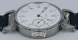 Very Rare Highest Grade C. H. Meylan Brassus Quality Chronometer Movement
