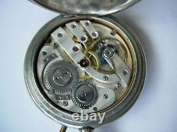 Very Rare J. K. High Grade SS pocket watch just full serviced, perfect working