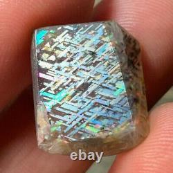 Very Rare Museum Grade Full Spectrum Rainbow Lattice Sunstone Specimen