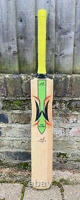 Very Rare Woodworm Globe Green Edition Adult SH Cricket Bat 2lbs 10oz Grade 1 EW