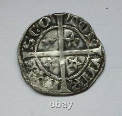 Very rare ROBERT the BRUCE of Scotland penny weighs 1.4g and in good grade