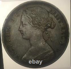 Victoria Penny 1867 Very Rare In High Grade