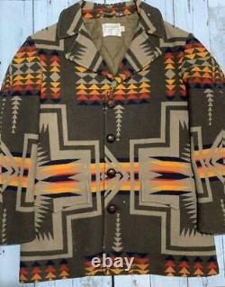 Vintage Pendleton High Grade Western Wear Jacket Size 40 Very Rare