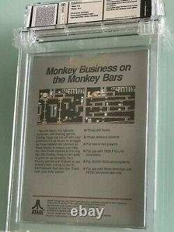 WATA 9.4 A++ Donkey Kong Atari 7800 very rare high grade NM factory sealed VGA