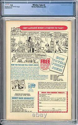 WITCHES TALES #3 CGC NM 9.2 BONDAGE COVER VERY RARE in Grade 1951