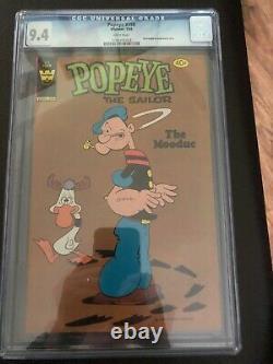 Whitman Popeye Comic #158 CGC 9.4 (Very Very Rare)-2nd Highest Grade