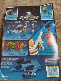 Windhammer with Tuning Fork Silverhawks Kenner 1987 Graded UKG 80% VERY RARE